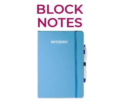 agende e block notes - block notes