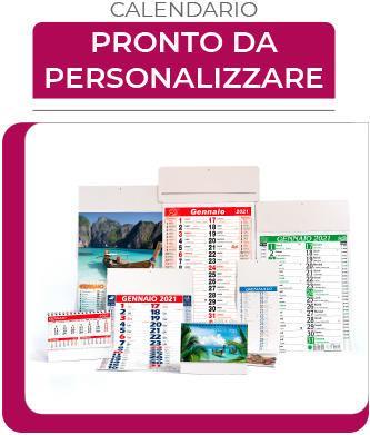 calendari pronti da personalizzare
