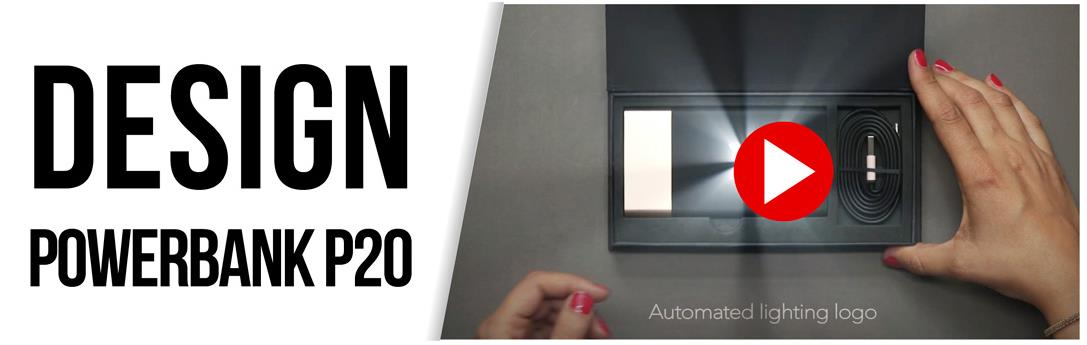 design powerbank P20