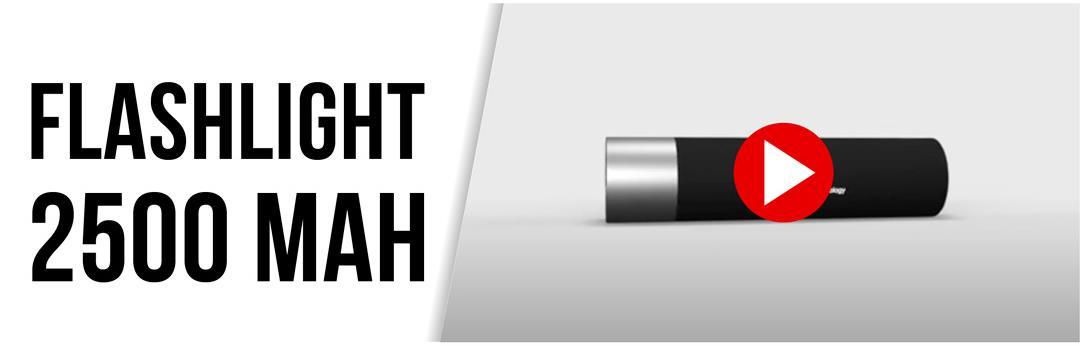 flashlight 2500 mah